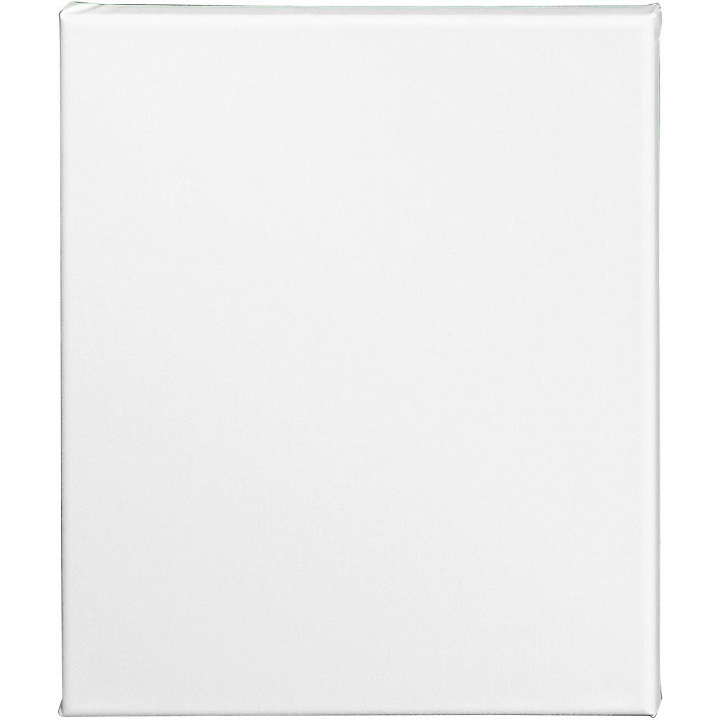 Creativ Company Artistline Canvas, Dybde 1,6 Cm, Str. 24x30 Cm, 360 G, Hvid, 10 Stk./ 1 Pk.