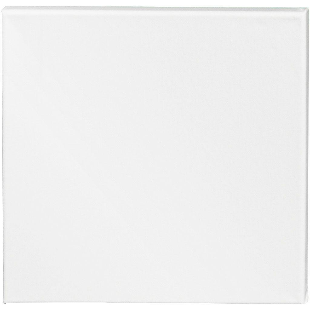 Creativ Company Artistline Canvas, Dybde 1,6 Cm, Str. 30x30 Cm, 360 G, Hvid, 10 Stk./ 1 Pk.
