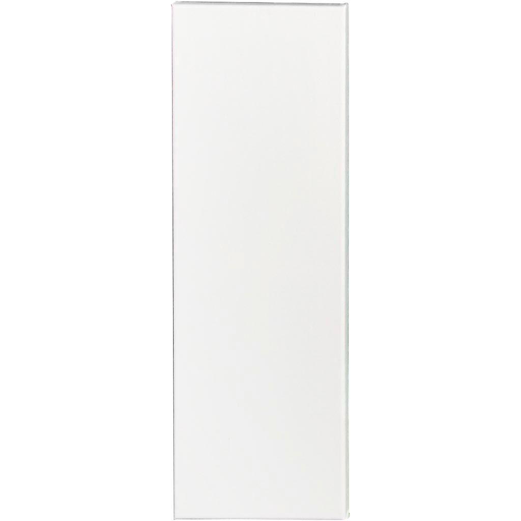 Creativ Company Artistline Canvas, Dybde 1,6 Cm, Str. 20x60 Cm, 360 G, Hvid, 10 Stk./ 1 Pk.