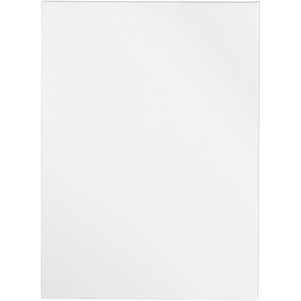 Creativ Company Artistline Canvas, Dybde 1,6 Cm, Str. 60x80 Cm, 360 G, Hvid, 5 Stk./ 1 Pk.