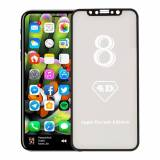 NORTAGG Iphone X - Hærdet Glas Skærmbeskyttelse 4d Fuld Beskyttelse - Sort Nortagg Panserglas