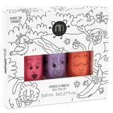 Nailmatic Kids Nail Polish Set 3x8 ml - Jungle