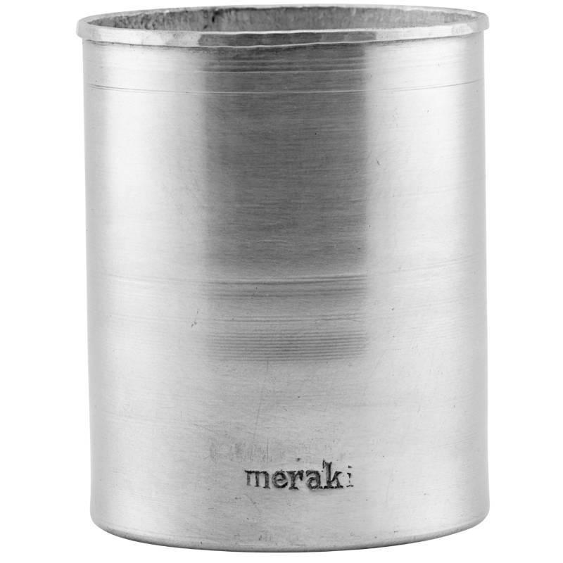 Meraki Jar Silver Finish