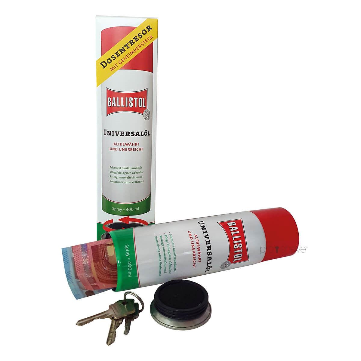 Ballistol Spray Med Hemmeligt Rum, 400 Ml.