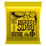 Ernie Ball Slinky Nickel Wound Guitarstrenge, El-guitar Beefy Slinky 011-054