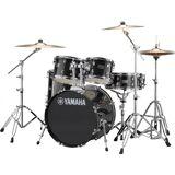 Yamaha Rydeen Standard Trommesæt - inkl. hardwarepakke og bækkener - Black Glitter