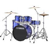 Yamaha Rydeen Studio Trommesæt - inkl. hardwarepakke og bækkener - Fine Blue