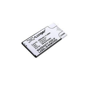 Samsung Galaxy J5 2016 batteri (3000 mAh, Sort)