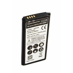 Samsung Galaxy S5 Mini batteri (2300 mAh, Sort)