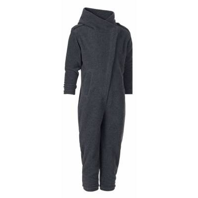 Karmameju Fleece Pantsuit Makalu Grey 5-7 Yrs - Børnetøj - Karmameju