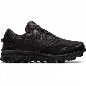 Asics Women's Gel-Fujitrabuco 8 Gore-Tex Sort Sort 41,5
