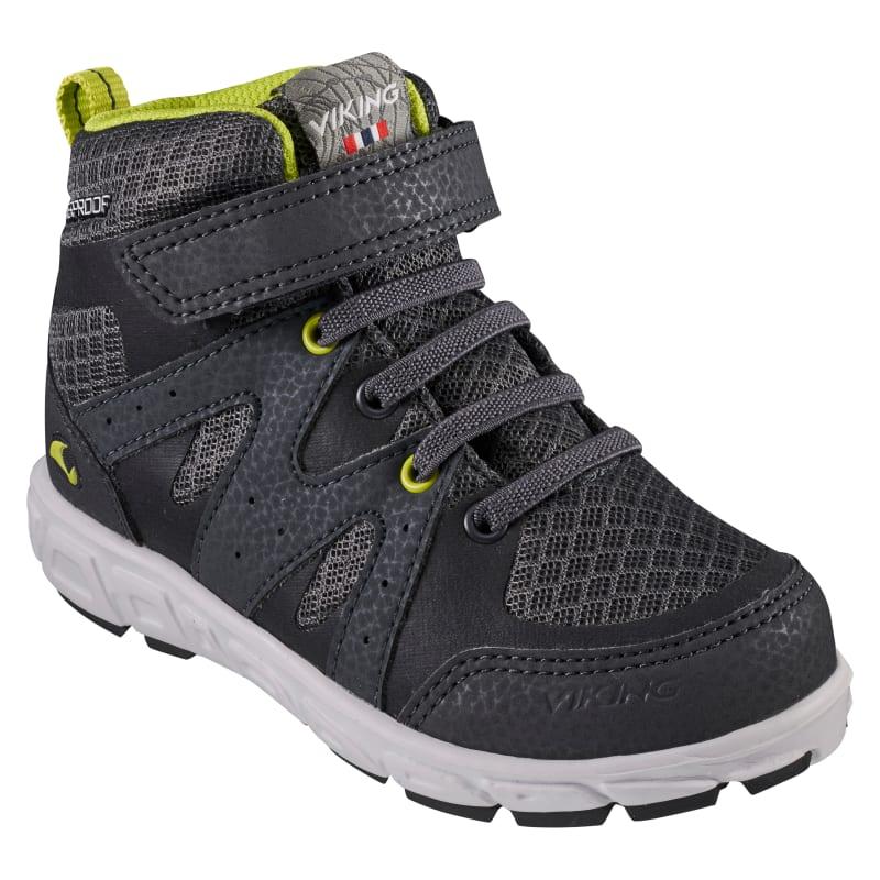 Viking Footwear Kid's Tolga Mid Waterproof Sort Sort 25