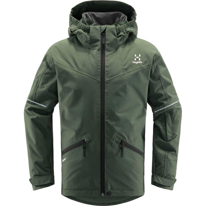 Haglöfs Niva Insulated Jacket Junior Grøn Grøn 152