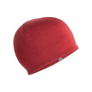 Icebreaker Unisex Pocket Hat Rød Rød OneSize