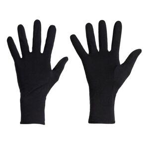 Icebreaker Unisex 260 Tech Glove Liners Sort Sort XL