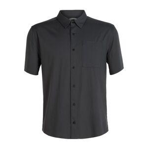 Icebreaker Men's Compass Ss Shirt Sort Sort XXL