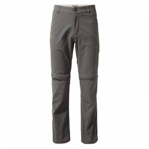 Craghoppers Men's Nosilife Pro Convertible Trousers Grå Grå 34 Reg