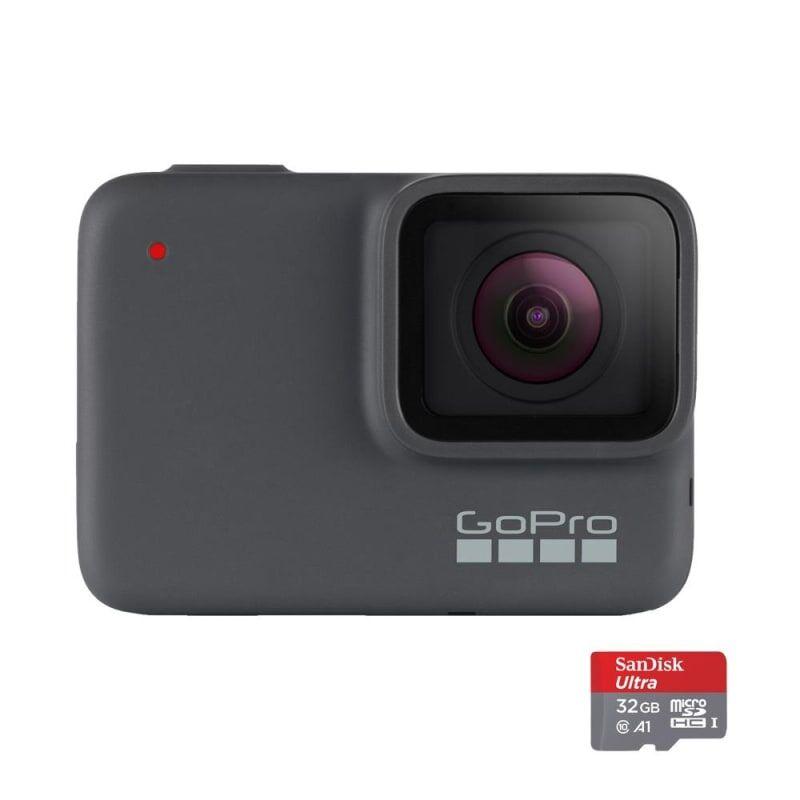 GoPro Hero7 Silver Special Bundle Grå Grå OneSize