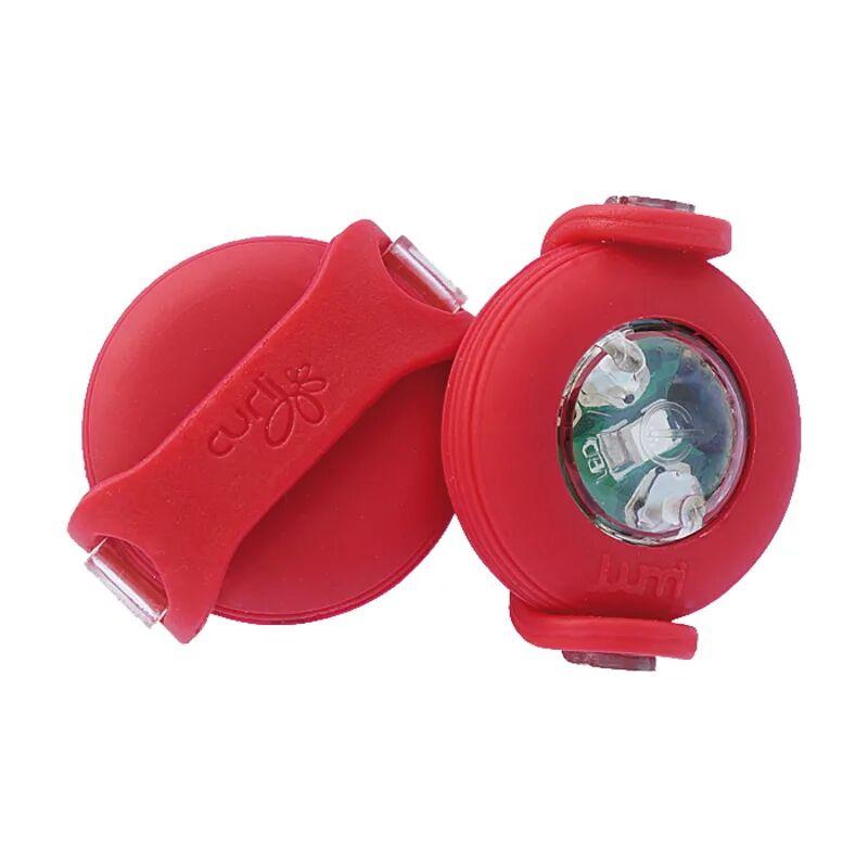 Curli Lamp Led Rød Rød 32 mm