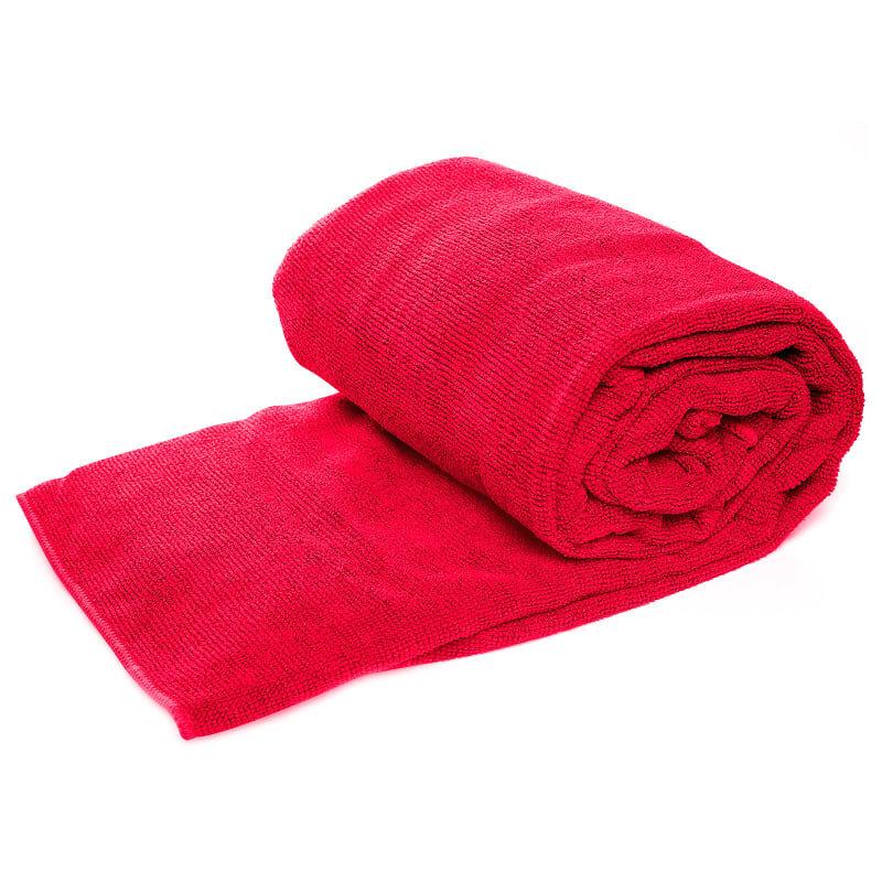 Urberg Microfiber Towel 85x150 cm Rød Rød OneSize
