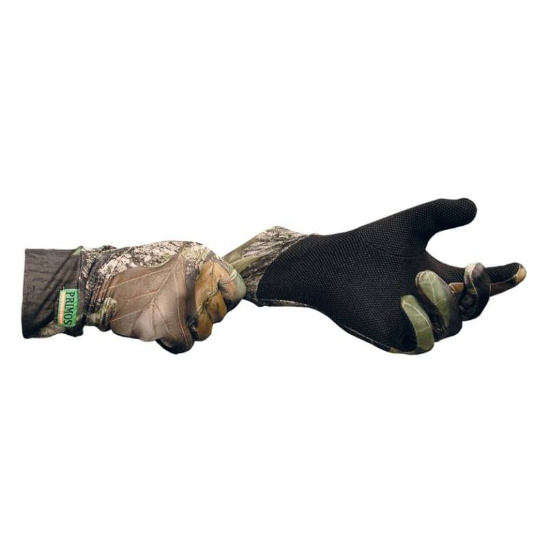 Primos Stretch-fit Gloves W/Sure-Grip And Extended Cuff Grøn Grøn OneSize