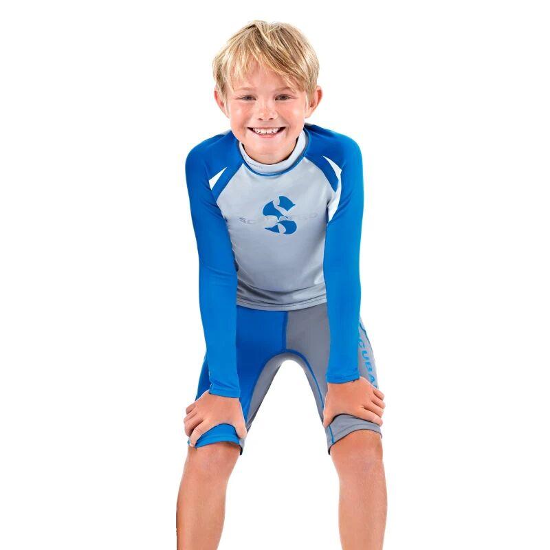Scubapro Wizard Rash Short Boy Blå Blå 92CM