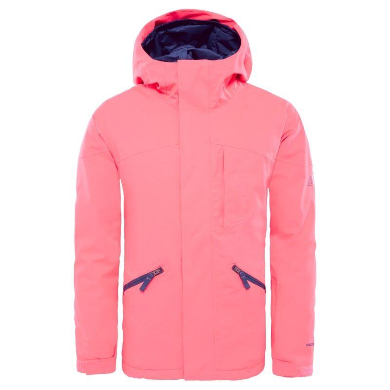 The North Face Girl's Lenado Insulated Jacket Rød Rød XS