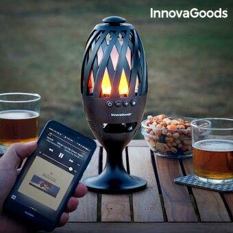InnovaGoods LED Fakkel med Bluetooth Højttaler