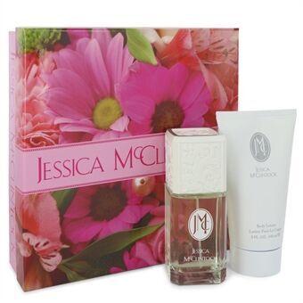 JESSICA Mc CLINTOCK by Jessica McClintock - Gift Set -- 3.4 oz Eau De Parfum Spray + 5 oz Body Lotion - til kvinder