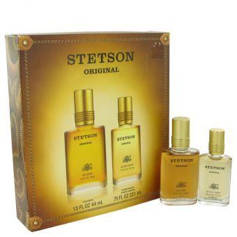 STETSON by Coty - Gift Set -- 1.5 oz Cologne + .75 oz After Shave - til mænd