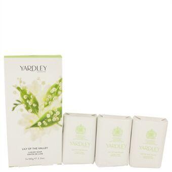 Lily of The Valley Yardley by Yardley London - 3 x 104 ml Soap 104 ml - til kvinder
