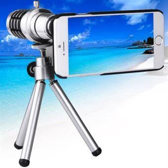 Sony Ericsson 12 X Tripod teleobjektiv til iPhone 6 & iPhone 6S