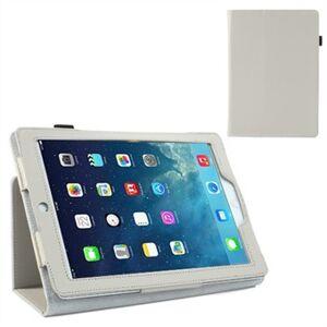 Apple Deluxe læder etui til iPad Air (Hvid)