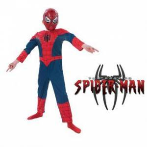 Deluxe Spiderman Kostume