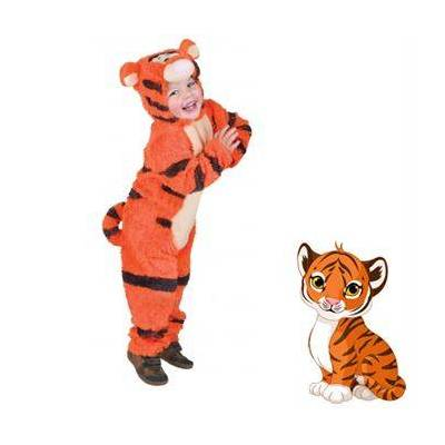 Tigerdyr Kostume - Børnetøj - Array