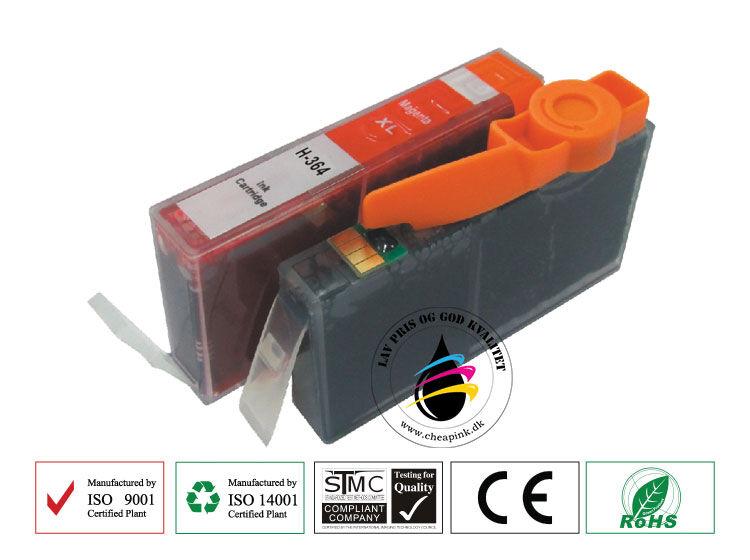 HP 364 XL M (CB324EE) Magenta blækpatron, 6ml