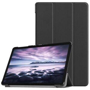 24hshop Trifold Beskyttelsesfoderal Samsung Galaxy Tab A 10.5 / T595 & T590, Sort