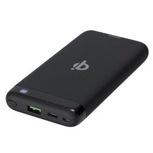 24hshop Deltaco Powerbank QI 5W 1 x USB PD 10000mAh 37Wh