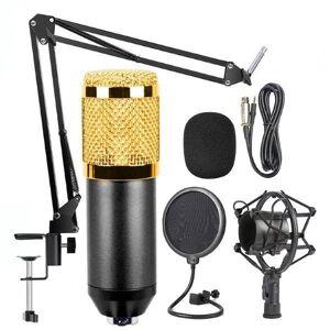 24hshop Kondensatormikrofon BM-800 med stativ