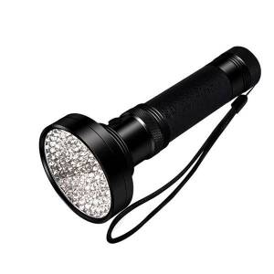 24hshop UV-lommelygte med 100 LED