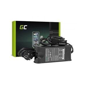 24hshop Green Cell lader / AC Adapter til Dell 90W  19.5V 4.62A / 7.4mm-5.0mm