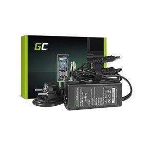 24hshop Green Cell lader / AC Adapter til Samsung 60W / 19V 3.16A / 5.5mm-3.0mm