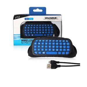 24hshop Tastatur til Håndkontrol PS4 - Blå