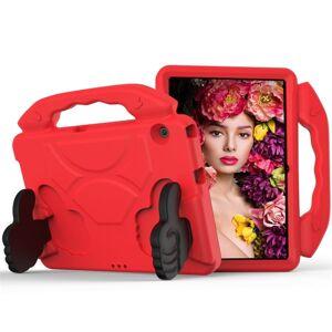 """24hshop Stødtålende børnefoderal med stativ & håndtag Huawei MediaPad T5 10.1"""", Rød"""