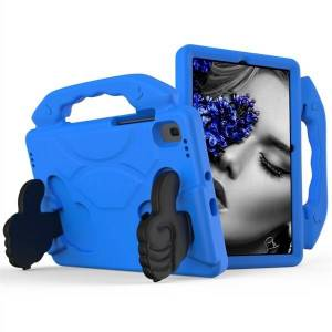 24hshop Beskyttelsesfoderal med støtte Samsung Galaxy Tab S5e 10.5 T720 Blå