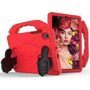 24hshop Beskyttelsesfoderal med støtte Samsung Galaxy Tab S5e 10.5 T720 Rød