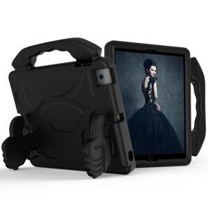 24hshop Beskyttende cover med håndtag til iPad 4 / 3 / 2 Sort
