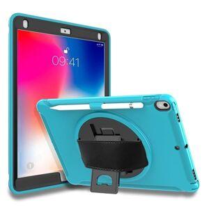 24hshop Roterbart beskyttende foderal til iPad Pro 10.5 inch Lyseblå