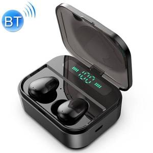 24hshop Trådløse Bluetooth høretelefoner med Ladebox