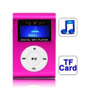 24hshop MP3-afspiller med Display